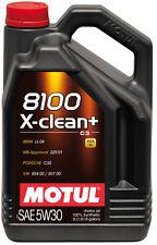 MOTUL Motoröl 8100 X-clean + 5W-30 1 x 5 L