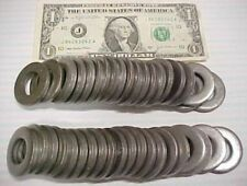 """Lot 40 Wrought Steel Washers, ¾ ID x 1-½ x .185"""" THICK, Industrial Surplus, Bolt"""