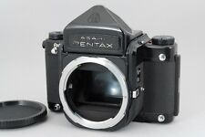 【Exc+++++】 Pentax 6x7 Eye Level Medium Format Film Camera 67 II From Japan #1528