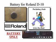 Battery for Roland D-10 Synthesizer - Internal Memory Replacement Battery