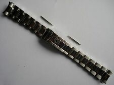 20MM POLISHED CENTER STEEL OYSTER BAND BRACELET FOR ROLEX MEN SUBMARINER WATCH