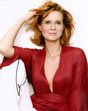 CYNTHIA NIXON AUTHENTIC SIGNED SEXY & THE CITY 10X8 PHOTO AFTAL & UACC [10450]