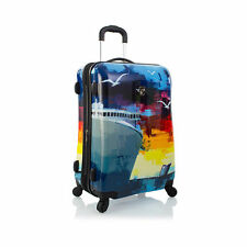 "Heys Cruise Luggage 26"" Suitcase Fashion Hardcase Patterned Spinner TSA"