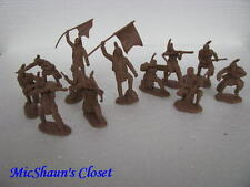 TSSD PLAINS INDIAN WARRIORS CUSTER SET #14 54MM 1:32 TOY SOLDIER PLAYSET SIOUX