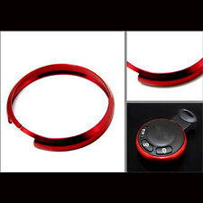 Red Metal Protective Ring For 08-Up Mini Cooper R55 R56 R57 R58 R59 R60 Key Fob