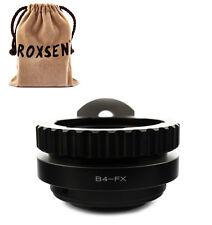 """B4 2/3"""" CANON FUJINON lens to Fujifilm Fuji FX mount X-Pro1 E1 M1 T1 E2 adapter"""