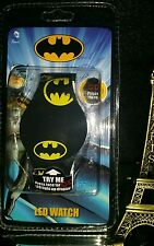 NEW! DC COMICS BATMAN DIGITAL UNISEX LED WATCH LIGHT UP.