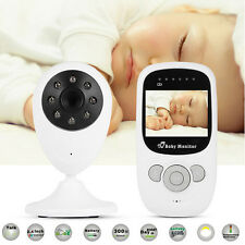 Digital Wireless Video Baby Monitor 2 Way Talk Night Vision Safety Alarm AH101