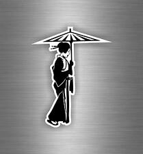 Sticker decals auto moto motorcycle tuning geisha japanese asia japan r1