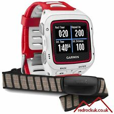 Garmin Forerunner 920XT GPS Multisport with HRM Sports Watch - White/Red