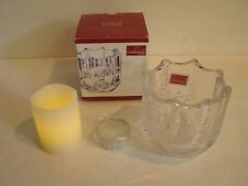 Mikasa Celebrations Christmas Night Collection Votive Candle Holder NIB