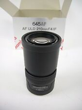 Mamiya 645 AF ULD 210MM F4 Lens for all Mamiya & Phase One AF Camera, EC