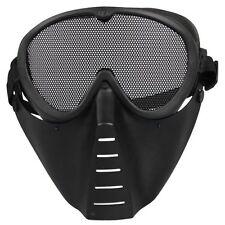 Maske Softair Schutzmaske Gotcha Paintball Schwarz Neu GY