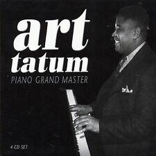 Piano Grand Master [Box] by Art Tatum (CD, Jul-2003, 4 Discs, Proper Records)