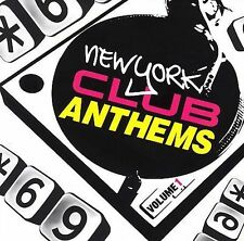 FREE US SH (int'l sh=$0-$3) USED,MINT CD Various Artists: New York Club Anthems