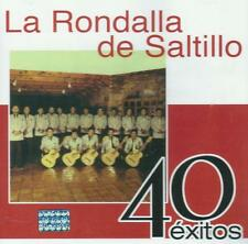 La Rondalla De Saltillo CD NEW 40 Exitos BOX SET Con 2 CD's 40 Canciones !