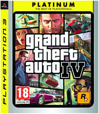 PS3 - Grand Theft Auto IV (GTA 4) Platinum **New & Sealed** Official UK Stock