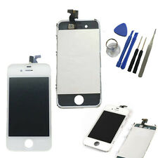 iPhone 4 4G Original Retina LCD Display Touchscreen Glas Front Bildschirm  Weiß