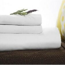 "Twin XL Fitted Premium Hotel Bed Sheet 36""x80""x9"" T180 Percale - Set of 2"