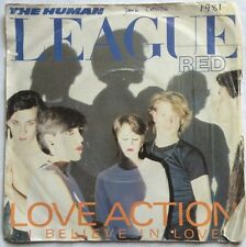 "Human League - Love Action (I Believe In Love) - Virgin Records 7"" Single VS 435"