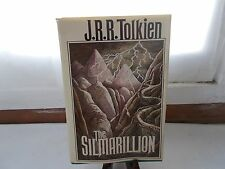 The Silmarillion by J.R.R. Tolkien First American Edition Hardcover Book