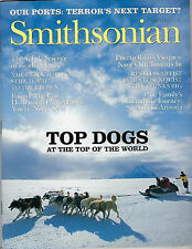 JANUARY 2004 SMITHSONIAN MAGAZINE FEATURING TOP DOGS OF THE WORLD ON THE COVER