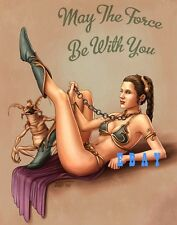 CARRIE FISHER animated motivation RARE Photo CUTE SLAVE LEIA Sexy STAR WARS hot