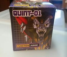 Transformers Quintesson Judge Quint-01 Impossible Toys g1 Brand New Sealed