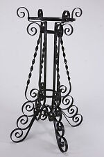 Wrought Iron Plant Stand Base Holder Curved Nice Design