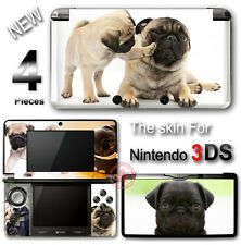 Dog Pug Adorable Pet NEW SKIN VINYL STICKER DECAL COVER #1 for Nintendo 3DS