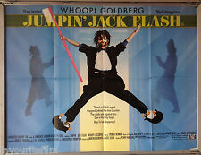 Cinema Poster: JUMPIN' JACK FLASH 1987 (Quad) Whoopi Goldberg Penny Marshall