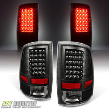 BLK 2009-2016 1500 2010-2016 2500/3500 Dodge Ram Truck LED Tail Lights Taillamps