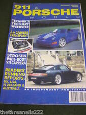 911 & PORSCHE WORLD - STROSEK WIDE-BODY 911 CARRERA - JULY 1994