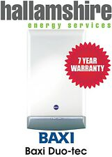 INSTALLED BAXI DUO TEC 24HE / 7 YEARS WARRANTY FREE PR STAT & CP12