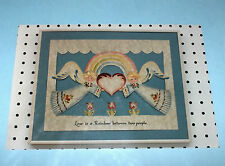 "Rosemary West ""Love is a Rainbow"" Angels Tole Painting Pattern Pack NIP"