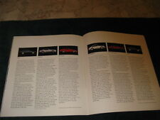 1988 Porsche sales brochure, excellent conditon, no damage, all models