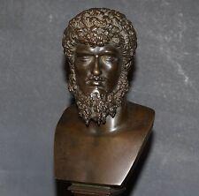 Antique Lucius Verus Bronze Bust
