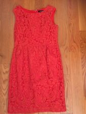 $118 Ellen Tracy Lace sheath dress, size 8P, worn once in excellent condition