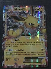 POKEMON TCG: XY GENERATIONS JOLTEON EX 28/83 RARE HOLO EX