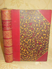Antique Collectable Book Of Charles VII Et Louis XI - 1895