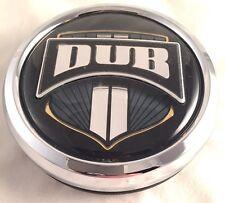 DUB Baller Custom Wheel Center Cap 1003-07 Chrome Pop In NEW