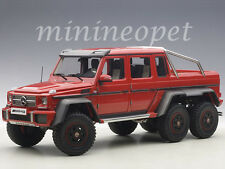 AUTOart 76304 MERCEDES BENZ G63 6X6 1/18 MODEL CAR RED
