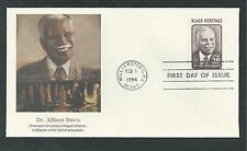 # 2816 DR. ALLISON DAVIS, BLACK HERITAGE SERIES 1994 Fleetwood First Day Cover