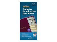 SPANISH BIBLE INDEXING TABS Old & New Testaments Gold Edged Tabbies