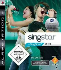 Playstation 3 Singstar VOLUME 3 * DEUTSCH TopZustand
