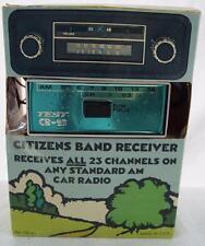 Vintage Test CB-23 CB Radio Receiver in Original Box MIB