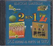 La Grande De Sinaloa Banda Limon y Banda Zorro 2 En 1 New Nuevo Sealed
