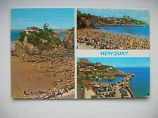 Newquay, Towan Beach etc (E T W Dennis Post Card)