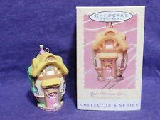 hallmark ornament Apple Blossom Lane #2 bunny house easter 1996 QEO8084 MIB