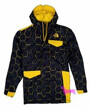 NWT The North Face Boys Blake Waterproof Jacket Black Print Youth XL 18/20 $140